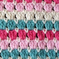 Square Stitch Crochet Face Washer