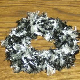 Double Stranded Scrunchie