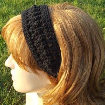 Bead and Lace Headband