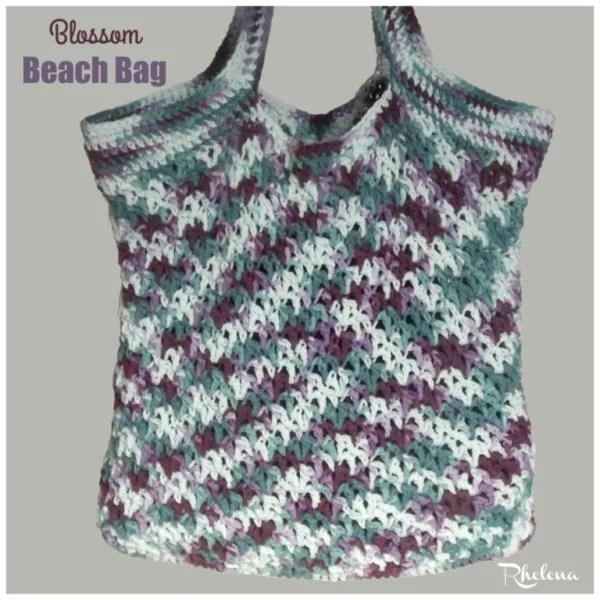 Blossom Beach Bag ~ FREE Crochet Pattern