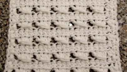 Quick And Easy Crochet Dishcloth Crochetncrafts