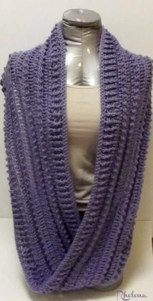 Simple Triple Crochet Cowl - CrochetN'Crafts