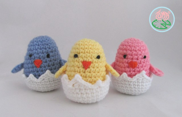 Amigurumi Crochet Patterns Amigurumi Hatching Easter Chicks Free Crochet Pattern Cool