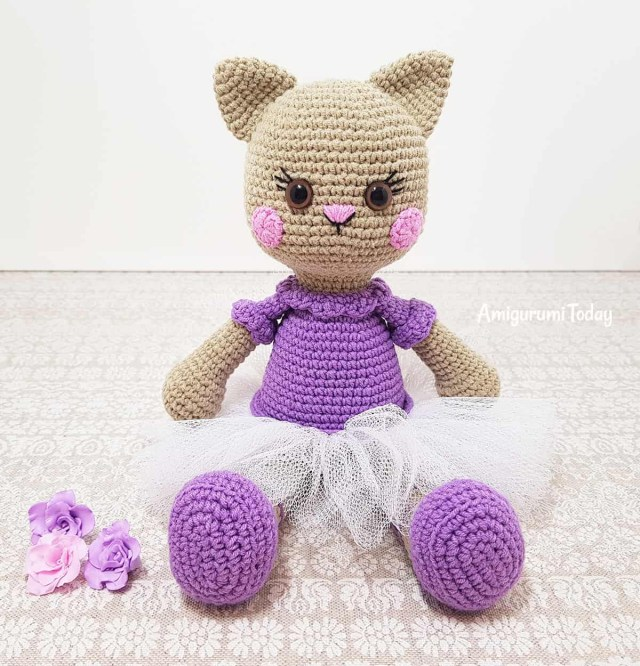 Amigurumi Crochet Patterns Ballerina Cat Doll Crochet Pattern Amigurumi Today