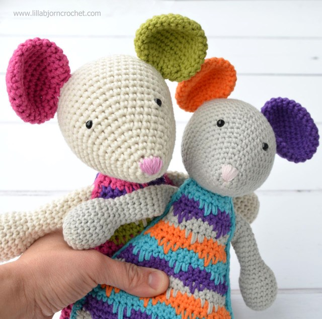 Amigurumi Crochet Patterns Let Me Introduce Lisa The Mouse New Crochet Amigurumi Pattern