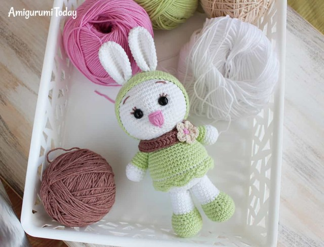 Amigurumi Crochet Patterns Sunny Bunny Crochet Pattern Amigurumi Today