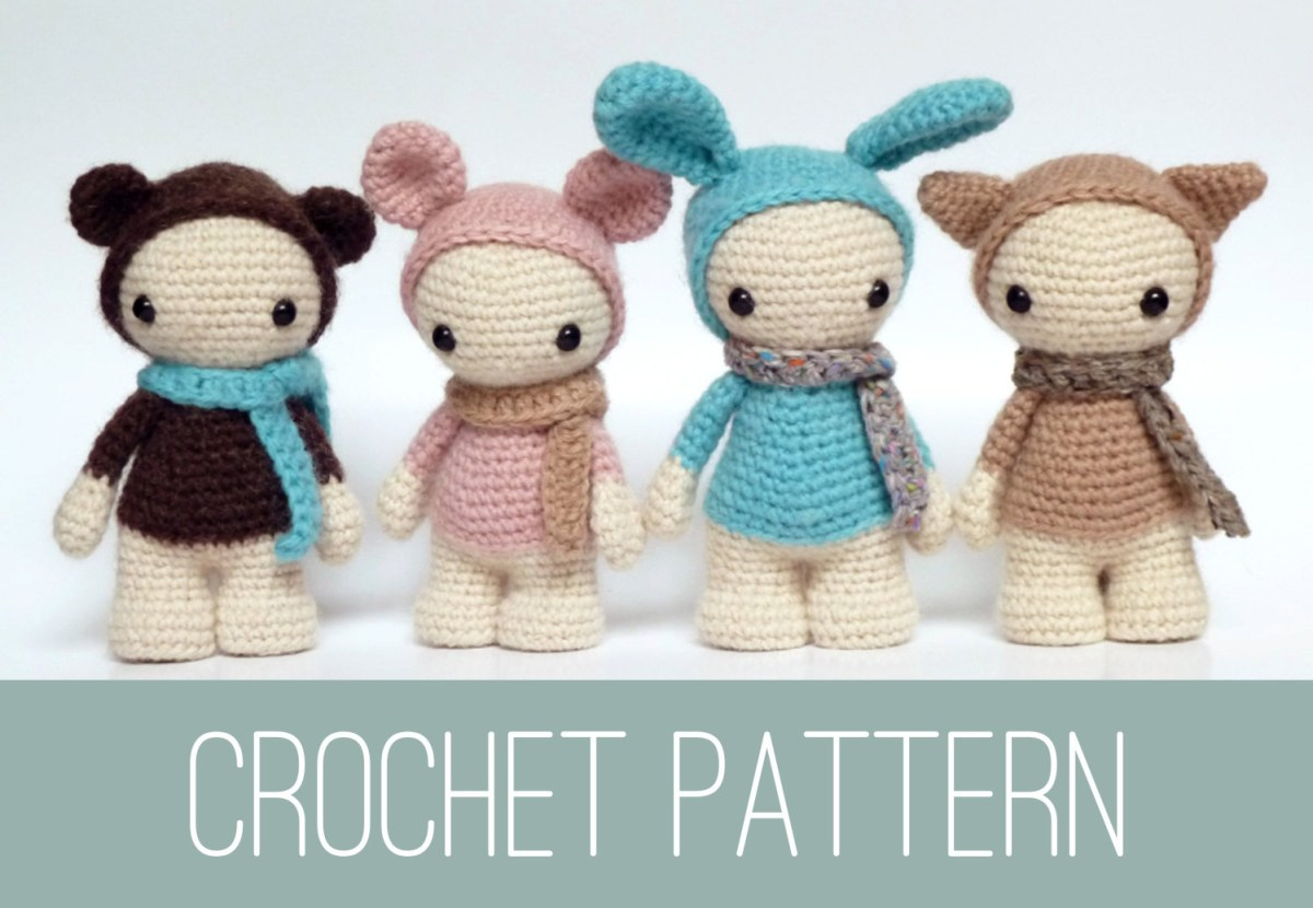 Basic Doll Body TUTORIAL // Amigurumi doll pattern - YouTube | 830x1200