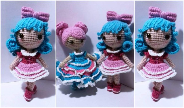 Amigurumi Doll Crochet Pattern Amigurumi Tiny Doll Free Crochet Pattern Your Crochet