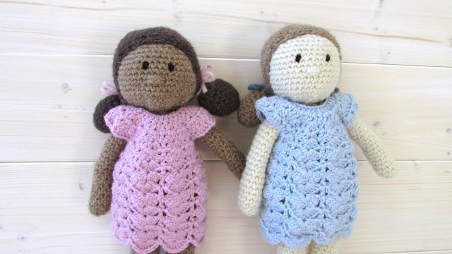 Amigurumi Doll Crochet Pattern How To Crochet An Easy Doll Toy Amigurumi Doll Pattern Youtube