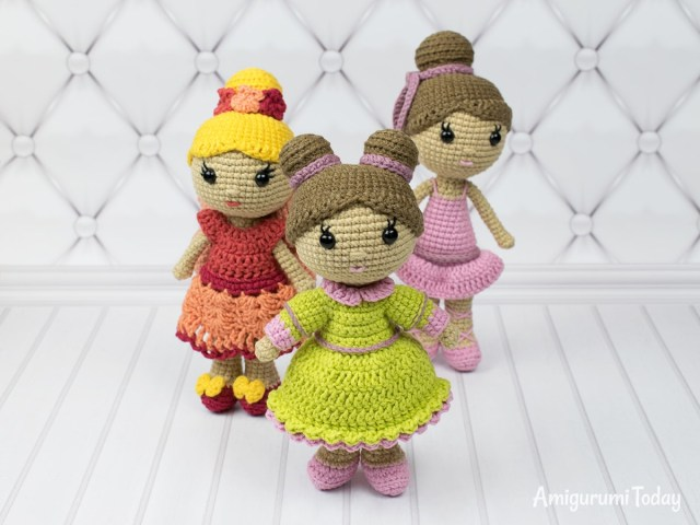 Amigurumi Doll Crochet Pattern Little Lady Doll Crochet Pattern Amigurumi Today