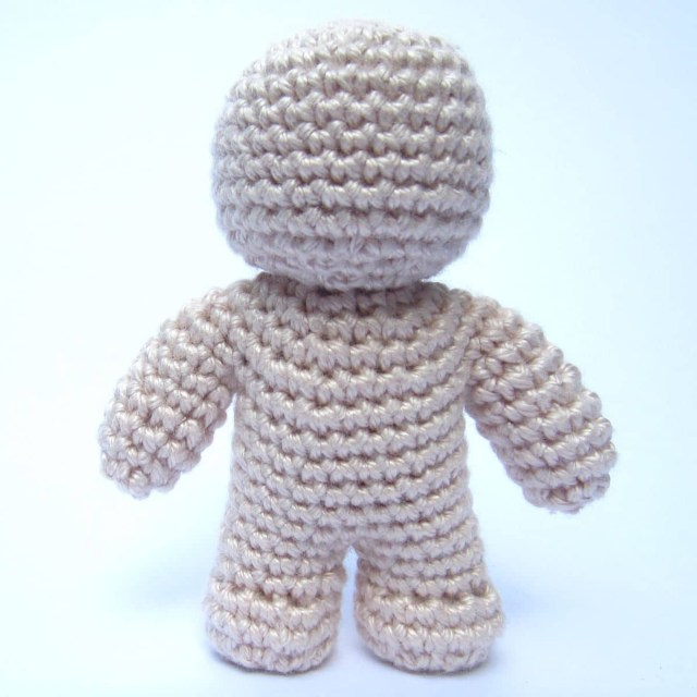Amigurumi Doll Crochet Pattern One Piece Crochet Doll Pattern Supergurumi