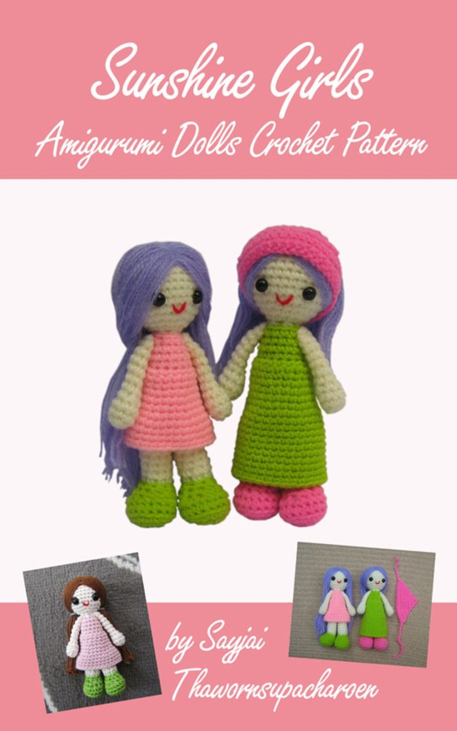 Amigurumi Doll Crochet Pattern Sunshine Girls Amigurumi Dolls Crochet Pattern Ebook Sayjai