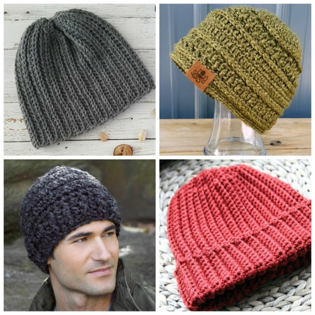 Beanie Pattern Crochet 14 Mens Crochet Hat Patterns Simply Collectible Crochet