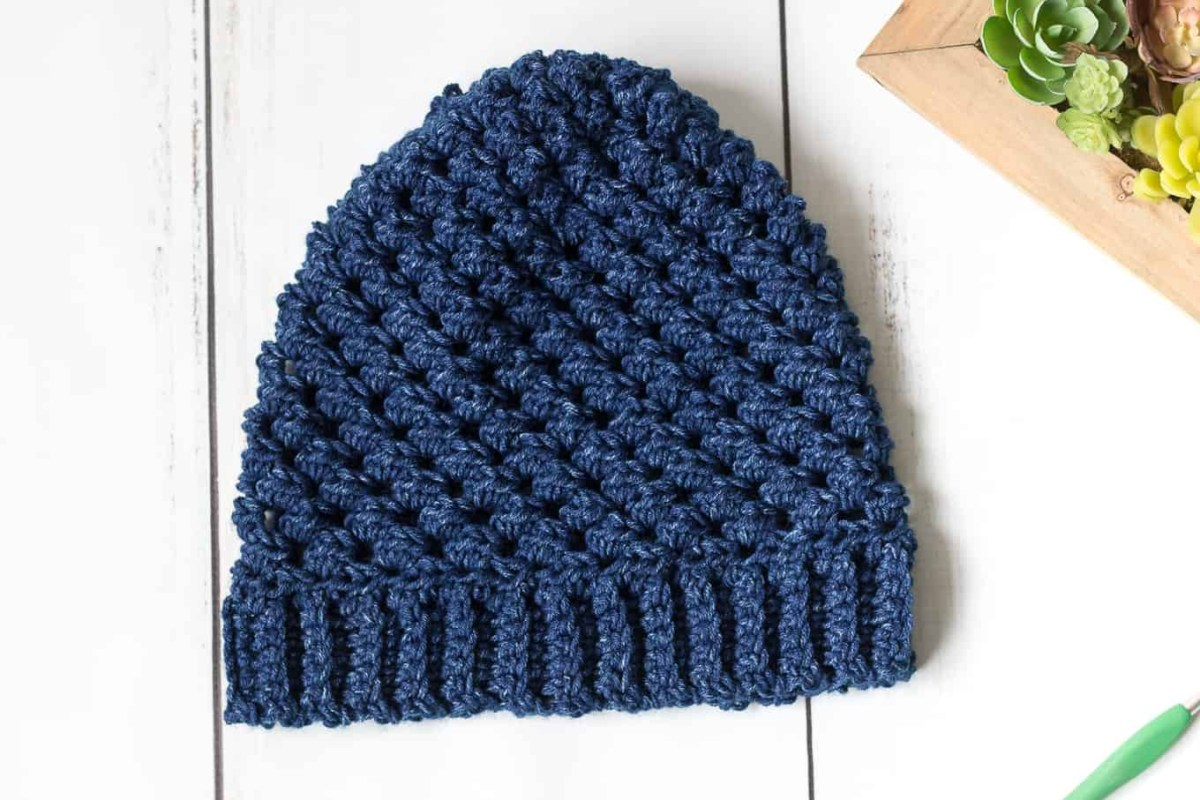 Beanie Pattern Crochet Leigh Hatnothate Hat Crochet Pattern Rescued Paw Designs