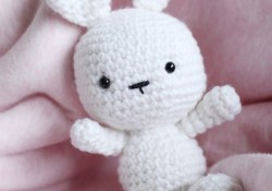 Bunny Crochet Pattern Classic Amigurumi Bunny Crochet Pattern Once Upon A Cheerio