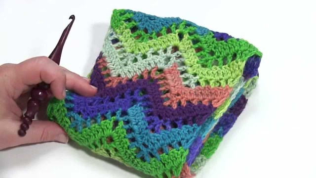 Chevron Crochet Scarf Pattern How To Crochet Chevron Lace Infinity Scarf Left Handed Youtube