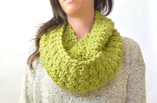 Chunky Crochet Scarf Pattern Knitted Infinity Scarves Patterns Erieairfair