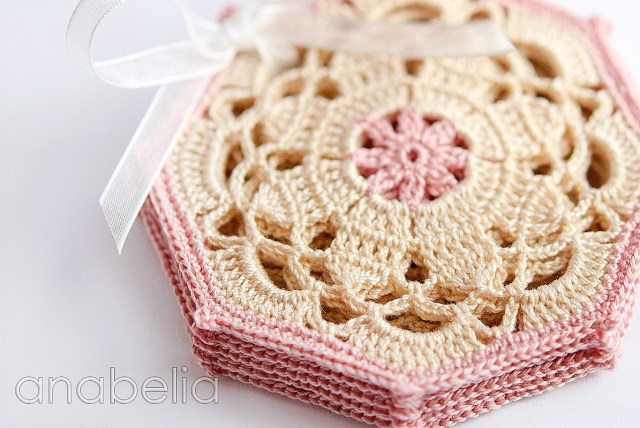 Coaster Crochet Pattern Anabelia Craft Design Vintage Coasters Updated Free Written