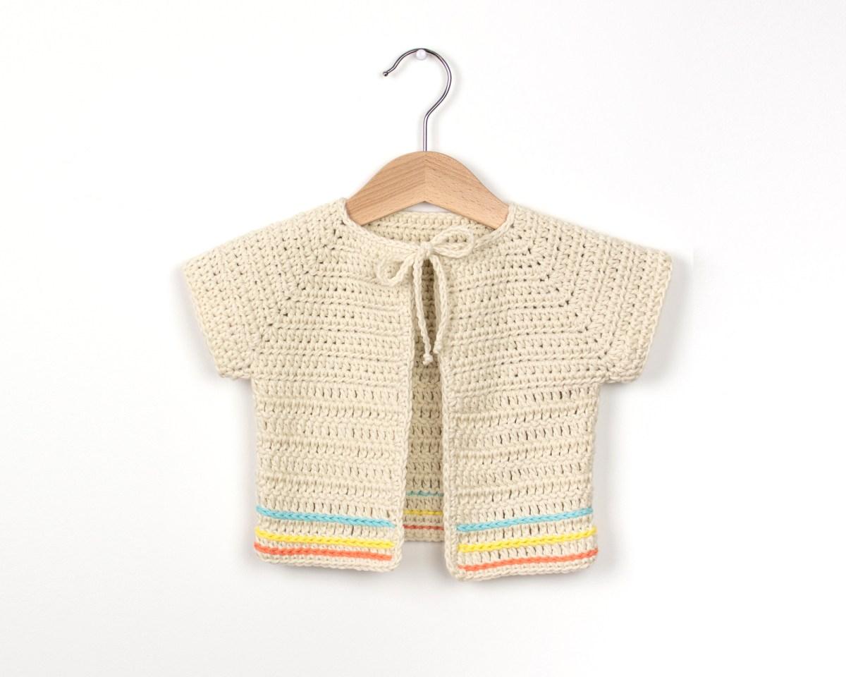 Crochet Baby Sweater Patterns Crochet Boho Ba Cardigan Cro Patterns