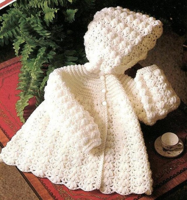 Crochet Baby Sweater Patterns Crochet Pattern Vintage Ba Sweater Knitting For Babies And Kids