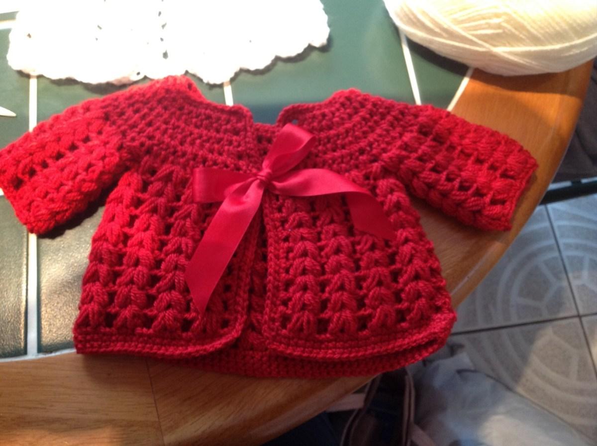 Crochet Baby Sweater Patterns Free Crochet Ba Cardigan Pattern Kawaiiblythe