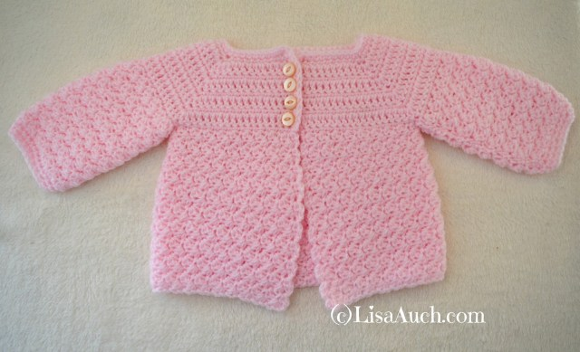 Crochet Baby Sweater Patterns Free Crochet Patterns And Designs Lisaauch Crochet Ba Cardigan