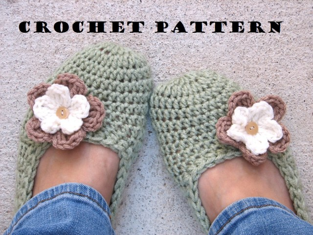 Crochet Boots Pattern For Adults Adult Slippers Crochet Pattern Pdfeasy Great For Beginners Shoes