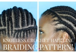 Crochet Braids Braid Pattern Natural Crochet Braid Hairline Braiding Pattern Youtube