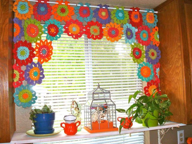Crochet Curtain Patterns 8 Free Crochet Curtain Patterns