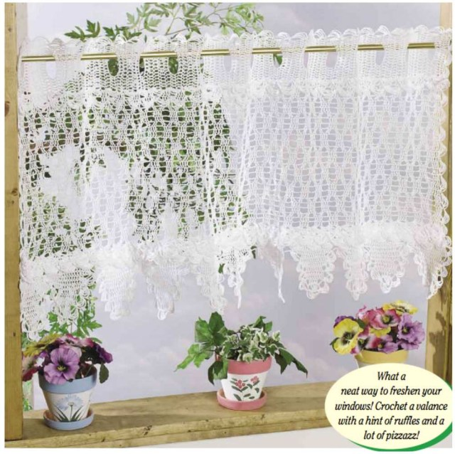 Crochet Curtain Patterns Crochet Curtain Styles Idea