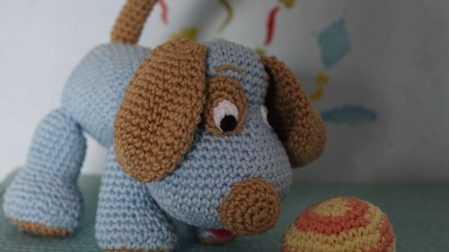 Crochet Dog Pattern How To Crochet A Cute Toy Dog Diy Crafts Tutorial Guidecentral