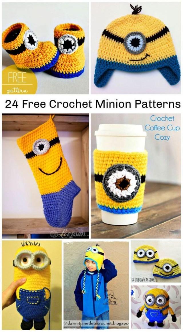 Crochet Minion Pattern 24 Free Crochet Minion Patterns Diy Crafts
