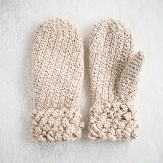 Crochet Mittens Free Pattern Simple And Easy Crochet Mittens For Adults Or Teens Crochet Life