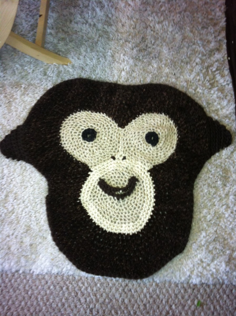 Crochet Monkey Blanket Pattern Crocheted Monkey Blanket Crochet Ba Boy Blanket Ba Boy