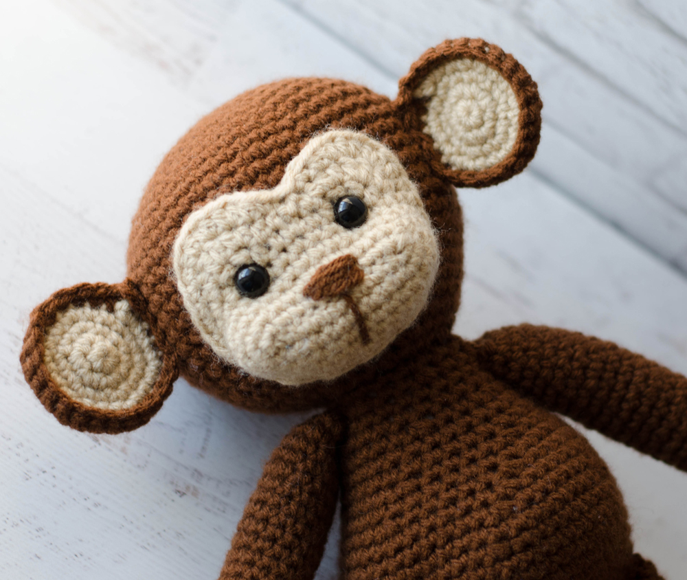 Crochet Monkey Blanket Pattern Meet Michael The Monkey Crochet 365 Knit Too