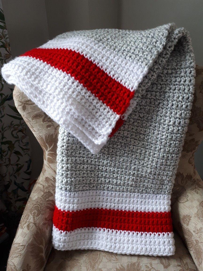 Crochet Monkey Blanket Pattern Sock Monkey Blanket For Alyssa Used Bernat Chunky Yarn 6 Gray