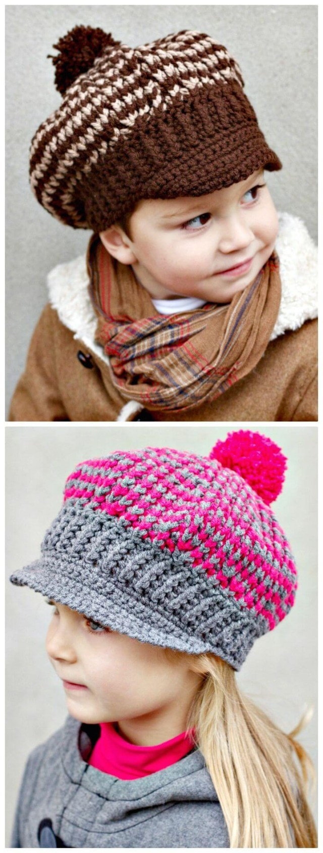 Crochet Newborn Newsboy Hat Pattern Free 15 Free Crochet Newsboy Hat Patterns Diy Crafts