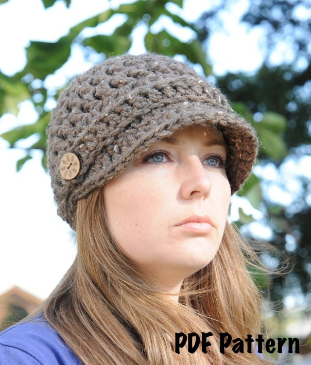 Crochet Newborn Newsboy Hat Pattern Free 37 Diy Tutorials To Make A Newsboy Cap Guide Patterns