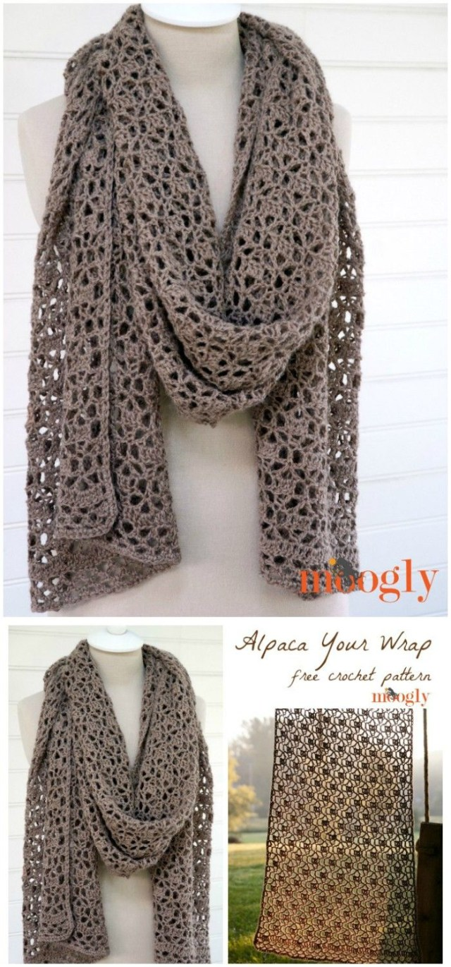 Crochet Pattern Scarf I Have Made A Big List Of Most Beautiful Adorable And Stylish