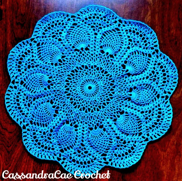 Crochet Pineapple Pattern 21 Free Crochet Doily Patterns Page 2 Of 3 Knit And Crochet Daily