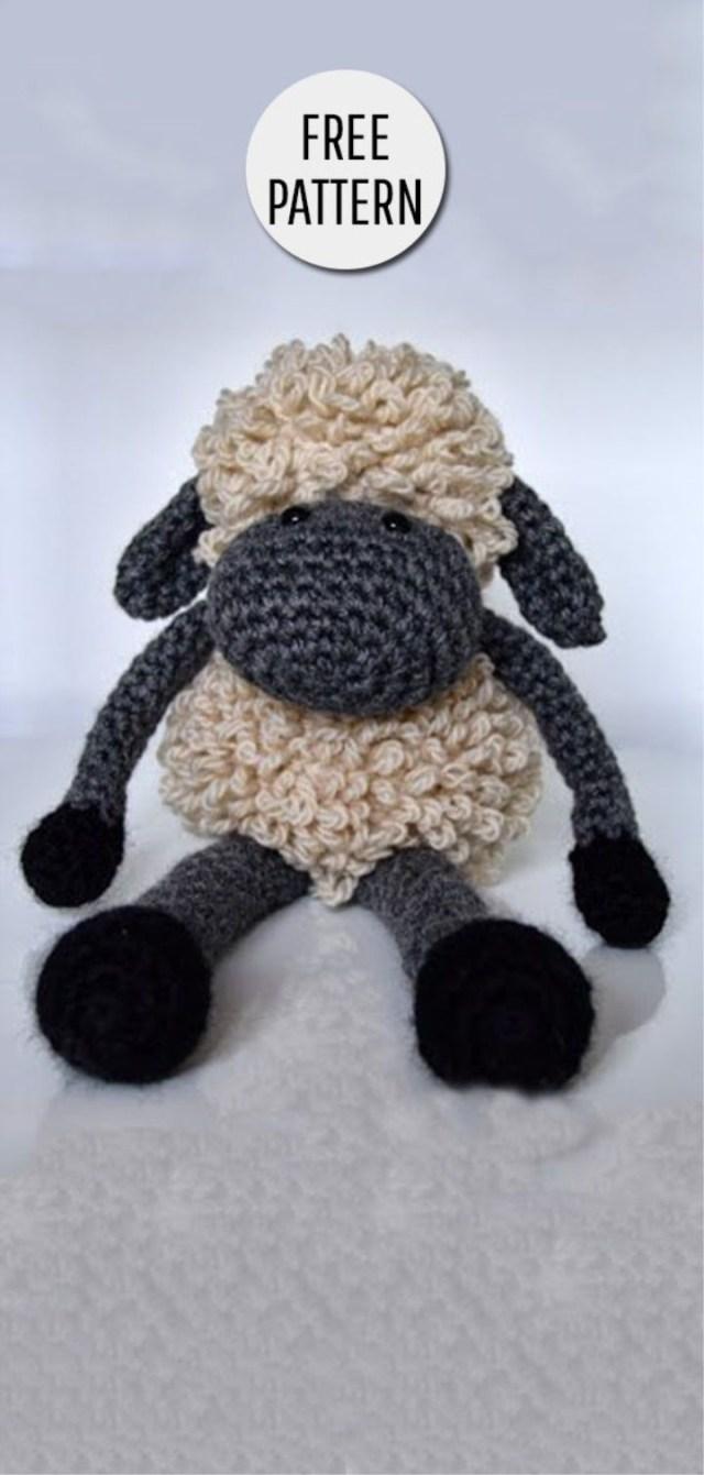PATTERN: Crochet sheep pattern Amigurumi sheep pattern | Etsy | 1341x640