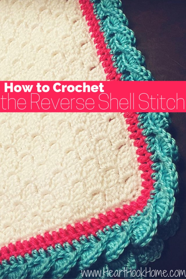 Crochet Shell Pattern Scarf How To Crochet The Reverse Shell Stitch With Photos