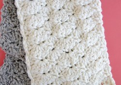 Crochet Shell Pattern Scarf How To Crochet The Shell Stitch For Beginners My Style Pinterest