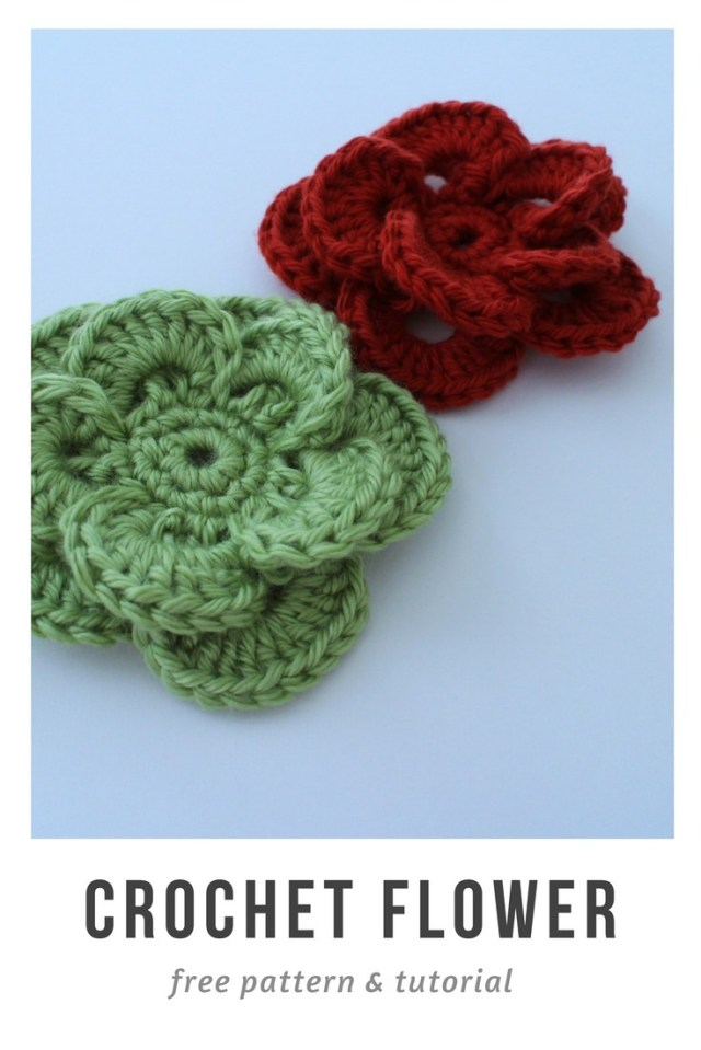Crochet Sunflower Pattern Free Crochet Flower Pattern And Tutorial To Embellish Your Project