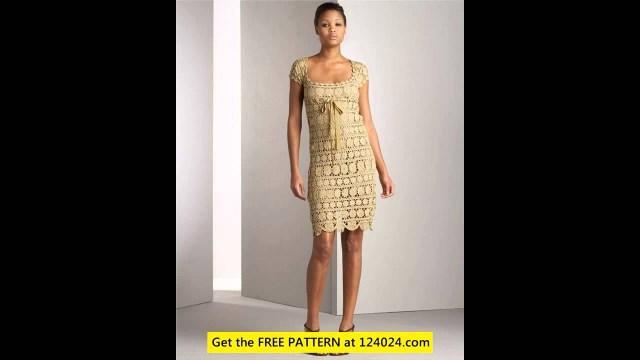 Crochet Wedding Dress Pattern Free Crochet Wedding Dress Pattern Youtube