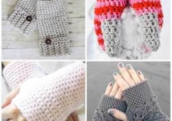 Crochet Wrist Warmers Free Pattern Crochet Fingerless Gloves Mitten Crochet Patterns Daisy Cottage