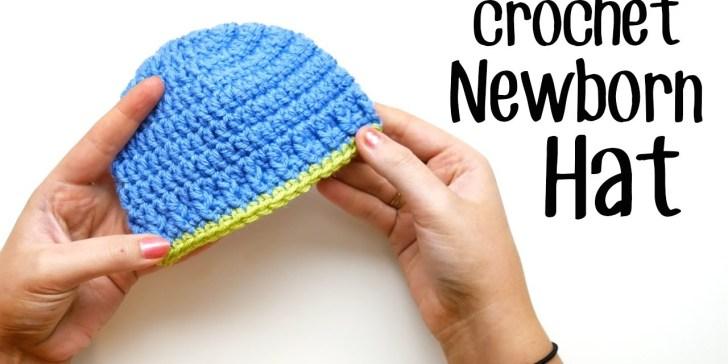 32 Beautiful Easy Crochet Baby Hat Pattern Crochetnstylecom