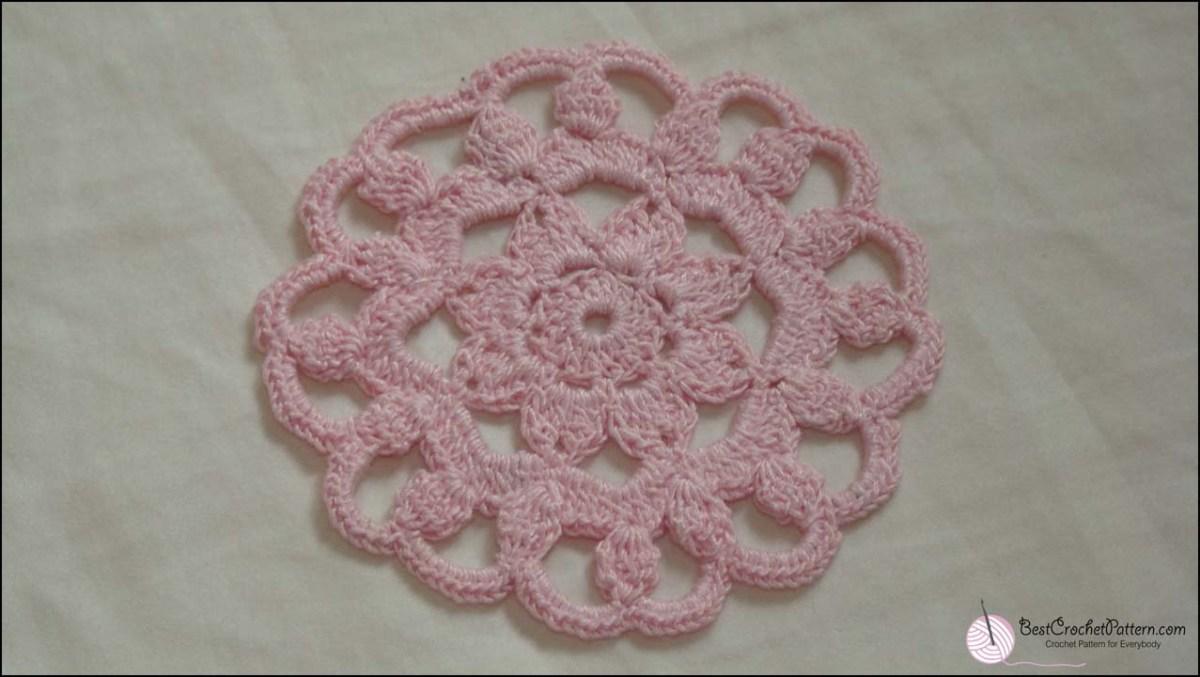 Easy Crochet Doily Patterns For Beginners Easy Crochet Doily Patterns Best Crochet Pattern