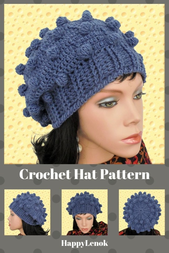 Easy Crochet Slouchy Hat Pattern Crochet Beanie Pattern Crochet Beanie Hat Tutorial Easy Crochet
