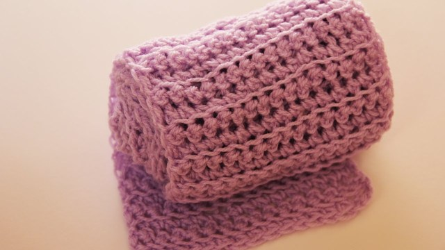 Easy Scarf Crochet Pattern Knitting Patterns Dishcloth How To Crochet A Scarf Simple Way